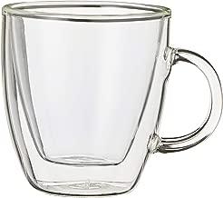 Bodum Australia Pty Espresso Mug Double Wall, Transparent, 10602-10