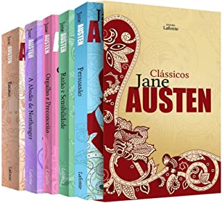 Box clássicos Jane Austen - Caixa 05 Volumes