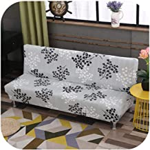 Folding Sofa Bed Cover Sofa Covers Spandex Stretch Elastic Material Double Seat Cover Slipcovers for Living Room Geometric Print Color 8 Pillowcase 2pc