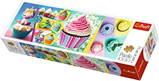 """Puzzles -""""1000 Panorama"""" - Colorful cupcakes"""