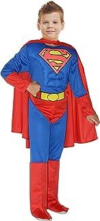 Ciao-Superman Costume Bambino Originale DC Comics (Taglia 3-