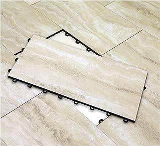 Vinyl Top Multi-Purpose Basement Flooring Tiles 12