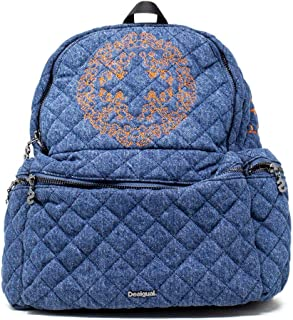 Luxury Fashion | Desigual Womens 19WAKA27BLUE Blue Backpack | Fall Winter 19