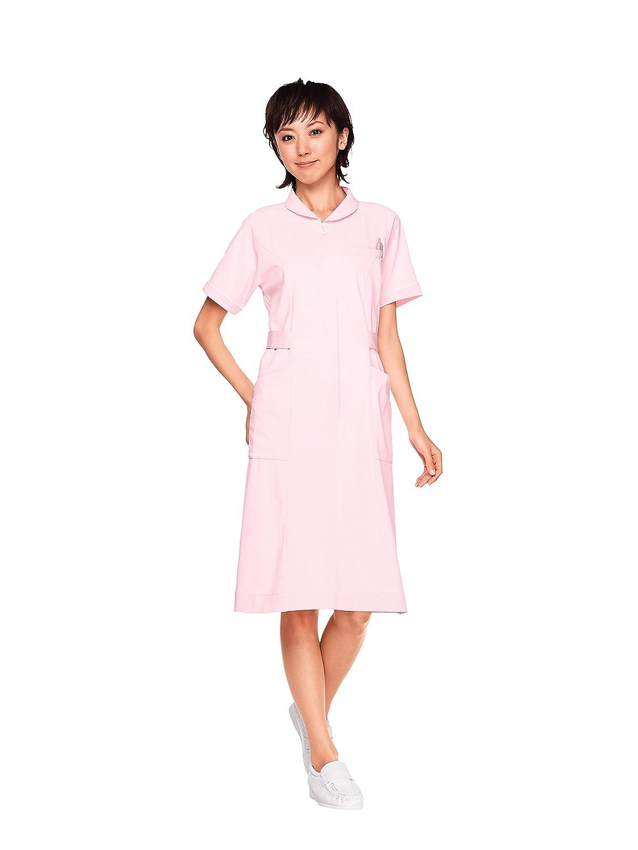 【WHISeL】ナースウェア ワンピース ピンク/WH10700