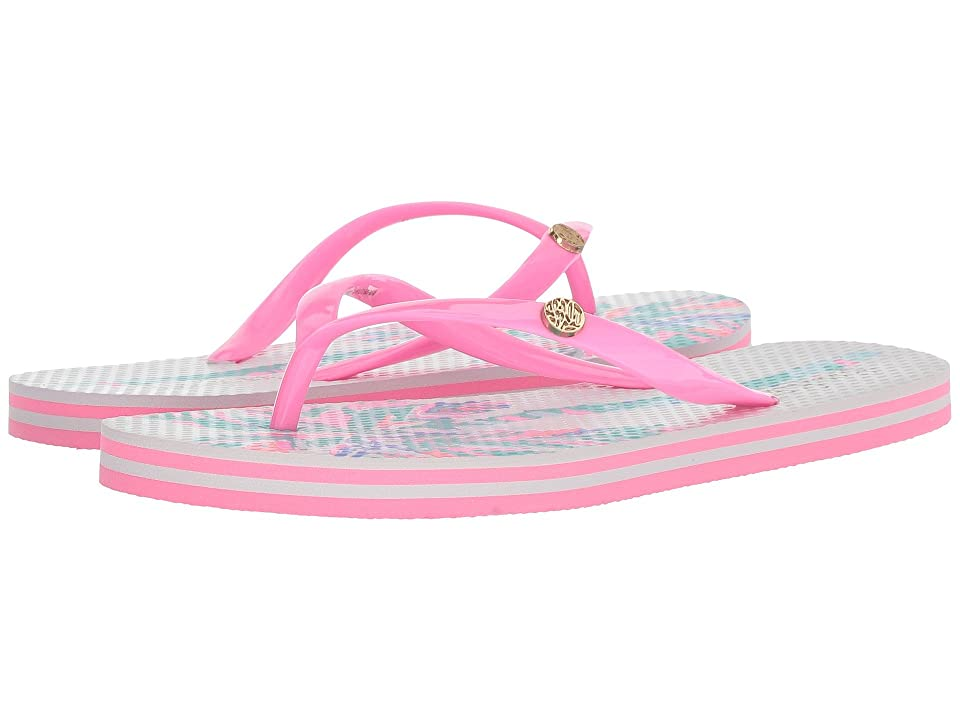 Lilly Pulitzer Pool Flip-Flop (Resort White) Women
