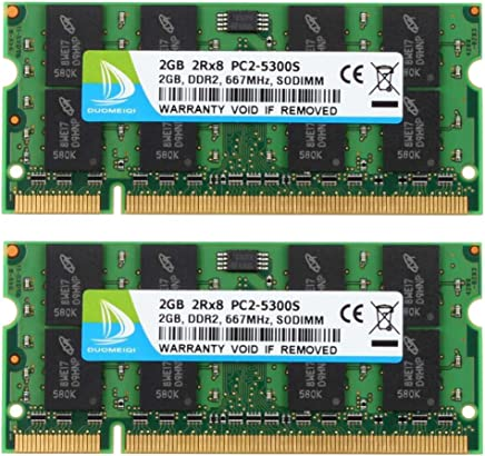 1GB PC2-5300 DDR2 667 SO-DIMM NON-ECC RAM Laptop MEMORY 200pin SODIMM