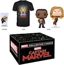 Funko Marvel Collector Corps: Captain Marvel - March 2019 Theme, Medium