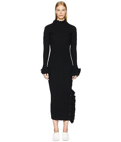 Preen by Thornton Bregazzi Ashley Knit Dress (Black) Women
