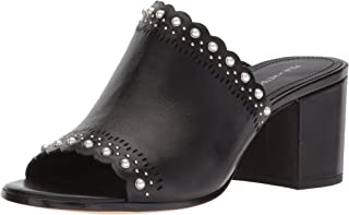 Pour La Victoire Women's Amela Heeled Sandal, Black, 6.5 M US