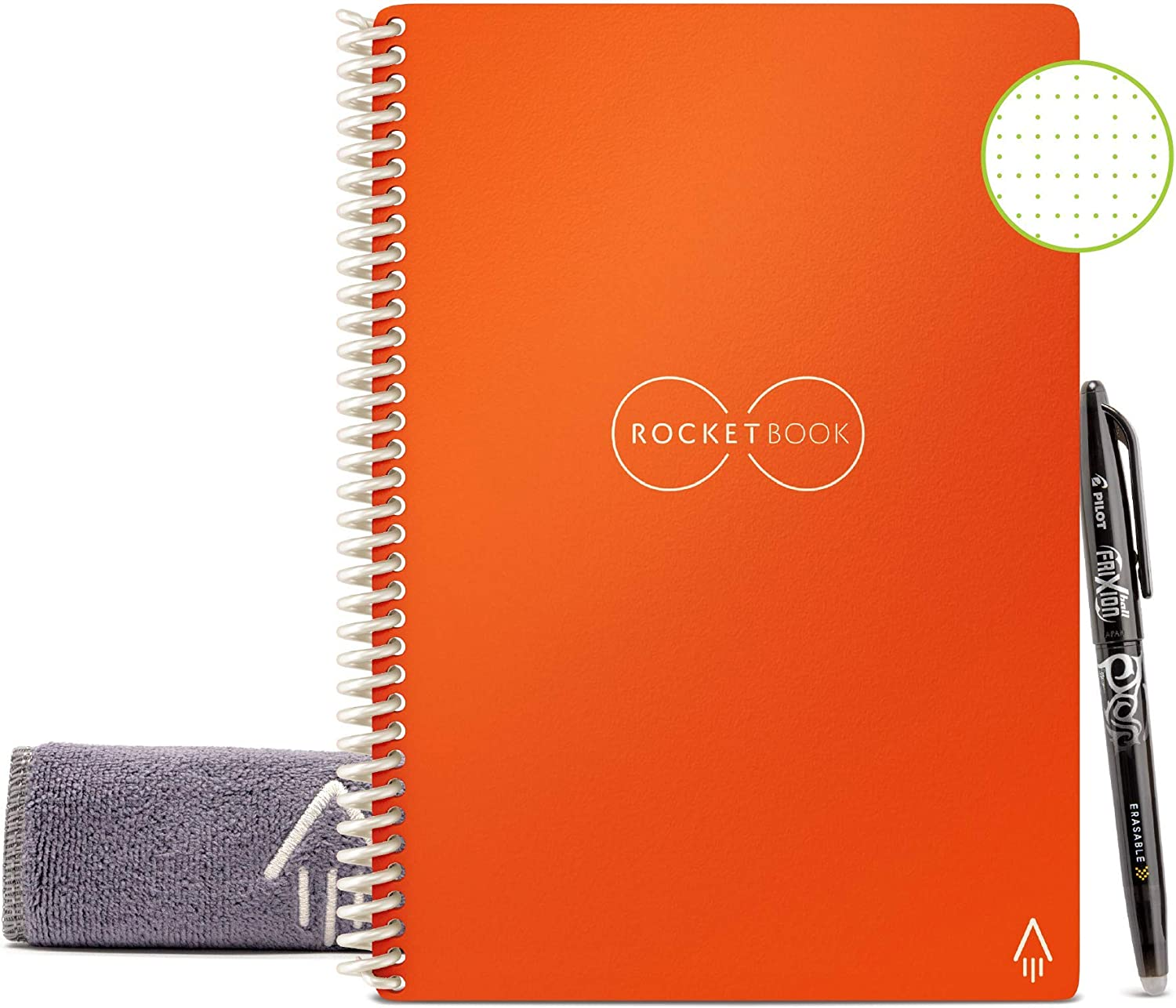 Rocketbook Everlast Reusable Infinit. Naranja (15.2x22.3cm)