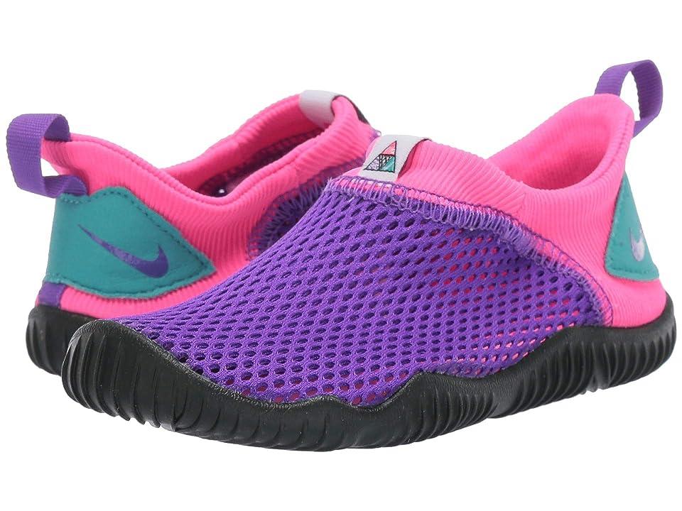 Nike Kids Aqua Sock 360 Now (Infant/Toddler) (Hyper Grape/Hyper Grape/Hyper Pink) Kids Shoes