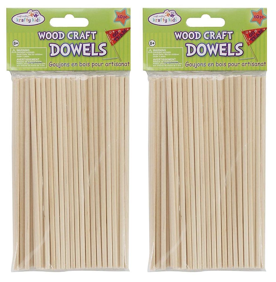 Wood Craft Dowels 6