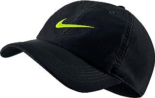 239ad2fc284 Nike Unisex Aerobill H86 Adjustable Hat Black Volt 729507-010