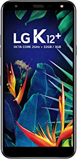 Smartphone, LG, k12+ LMX420BMW.ABRABK, 32GB, 5.7'', Preto