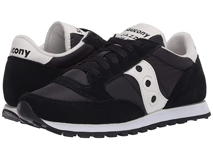Saucony Originals  Jazz Low Pro (Black/Cream) Womens Classic Shoes