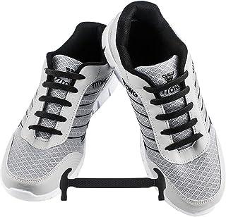 WELKOO® Lacets Elastiques en Silicone Sans Lacage Etanche pour Chaussure Adulte et Enfant -16 & 12pcs Couleur Divers Dispo...