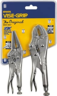 IRWIN VISE-GRIP Original Locking Pliers Set with Wire Cutter, 2-Piece (36)