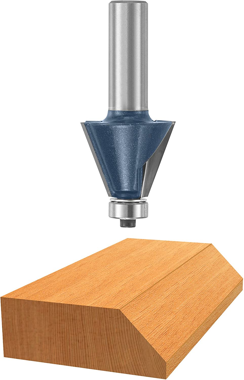 BOSCH 85299M 1-9 32 In. x Philadelphia Mall degree Chamfer 22.5 Bit Tipped Carbide New product