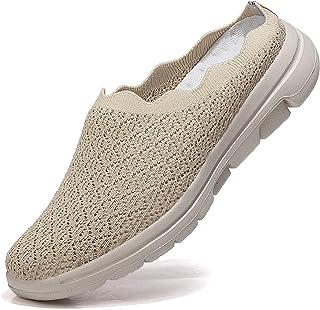 Zoccoli Donna Sabot con Zeppa Traspiranti Comode Pantofole da Casa Scarpe da Giardino Leggero Antiscivolo Sandali All'aperto