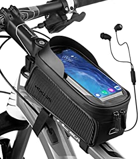 RNOX Bike Phone Bag Bicycle Pouch Top Tube Bag Bike Phone...