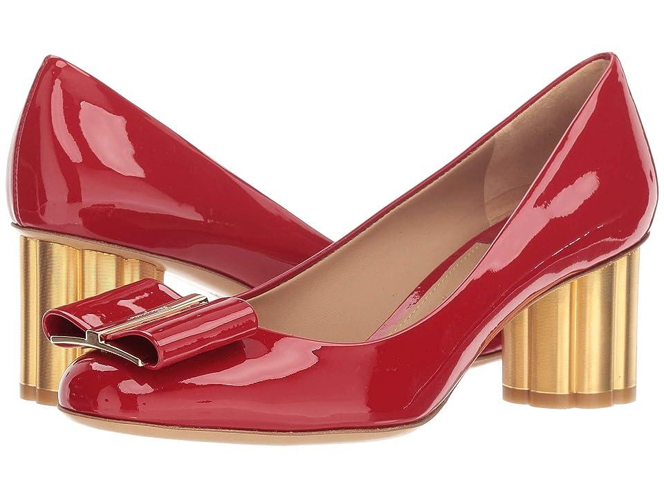 c309412705a Salvatore Ferragamo 55 mm Capua Pump (Lipstick Patent) High Heels