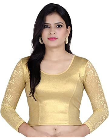 Black color Readymade Saree Blouse Sari Blouse All Sizes Ready-made 903822 For Women Cotton Blouse Sari Top Saree Top