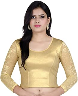 bde3c271743a09 Amazon.in: Reds - Blouses / Ethnic Wear: Clothing & Accessories