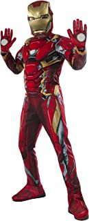 Rubie's Costume Captain America: Civil War Iron Man Costume - with Mask and Gloves
