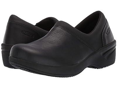 Keen Utility Soft Toe Kanteen Clog (Black/Black) Women