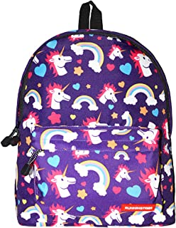 Chiclinco Kids Rainbow Unicorn Backpack Back to School Back Pack for Little Girls Age 5-12 Years Old