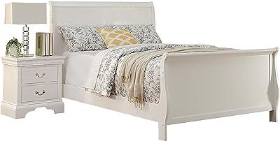 Poundex PDEX-F9254F Beds, White