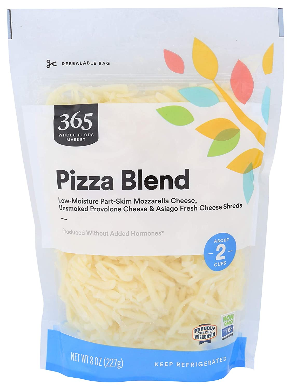365 We OFFer at cheap prices by Whole Foods Market Pizza Max 65% OFF Ounce Shred Blend 8
