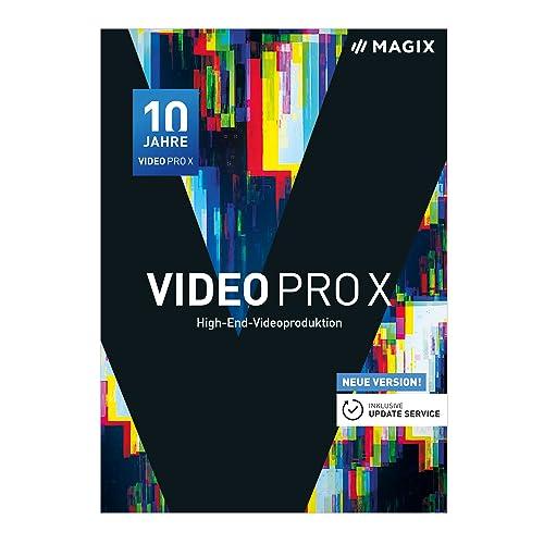 MAGIX Video Pro X – Jubiläumsversion 10 – Preisgekrönte Software für professionelle Videobearbeitung [Download]