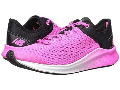 New Balance Kids Fresh Foam Fast (Little Kid/Big Kid) (Black/Peony) Girls Shoes