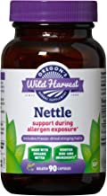 Oregon's Wild Harvest, Certified Organic Nettle Capsules with Stinging Hairs, Allergy Supplement, 600 mg, 90 Capsules