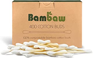 Bamboo Cotton Buds | Eco Cotton Buds | Cotton Swab | Wooden Cotton Bud | Eco Friendly packaging | Recyclable & Biodegradab...