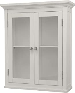 Best vintage wall cabinet with glass doors Reviews