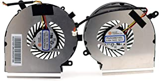 Deal4GO 3-pin 3-Wire CPU Cooling Fan w/GPU Fan Cooler kit for MSi GE62 GE72 PE60 PE70 GL62 GL72 GP62 GP72 MS-16J1 MS-16J2 ...