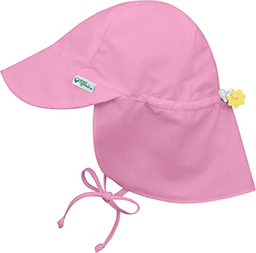 i play. Unisex Baby Solid Flap Sun Protection Hat UPF 50+