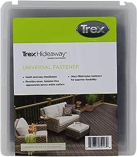 Trex Hideaway Plastic Fasteners with Screws - Box of 90
