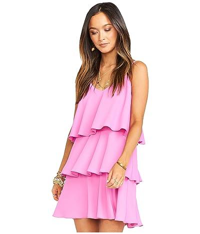 Show Me Your Mumu Suarez Ruffle Dress (Orchid Pink) Women