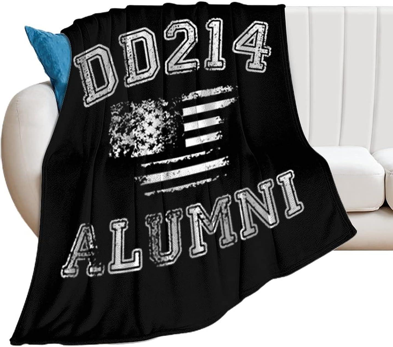 DD-214 Alumni Anti-Pilling Financial sales sale Throw Soft Flanne Lightweight Industry No. 1 Blanket