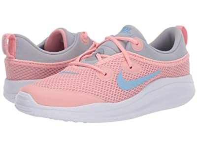 Nike Kids ACMI (Little Kid) (Bleached Coral/Psychic Blue/Wolf Grey) Girls Shoes