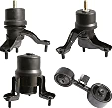 Motor and Trans Mounts - Set of 4 - Compatible with 2.4L 2002-2006 Toyota Camry and 2004-2008 Toyota Solara - Engine Mounts