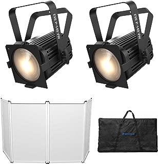 2) Chauvet DJ EVE P-140 VW DMX D-Fi Cool/Warm Wash Stage Lights+Facade+Scrim+Bag