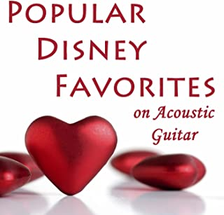 Popular Disney Favorites on Acoustic Guitar