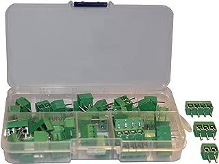 Screw Terminal Block Kit Long Pins 5 mm Pitch 2, 3, 4 Pole (40 pcs)