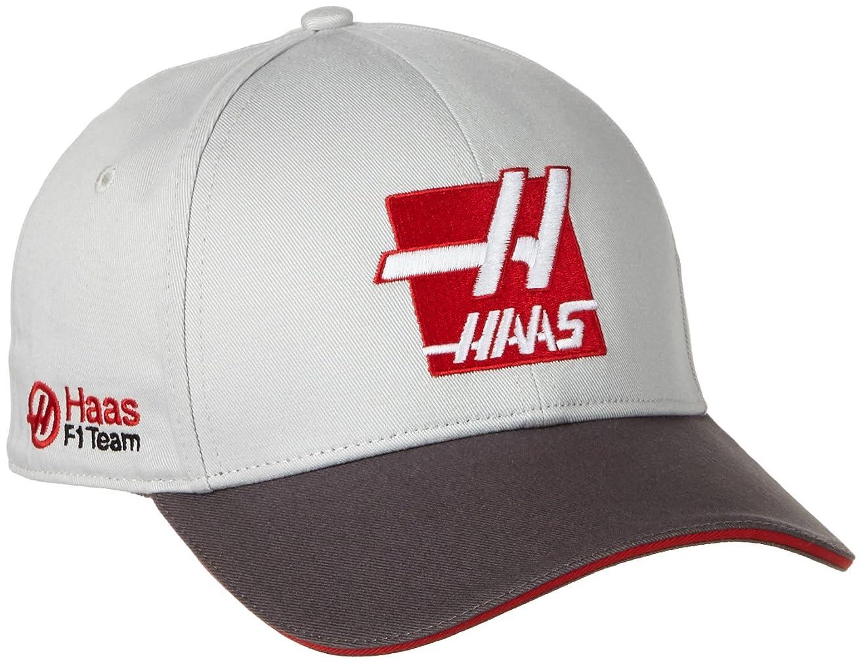 平野メッセージマイルストーンHaas F1チーム 2016 チームキャップ グレー