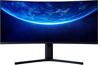 XIAOMI Curved Gaming Monitor 34-Inch 3440 * 1440 WQHD 21:9 Bring Fish Screen 144Hz High Refresh Rate 121% sRGB 1500R Curva...