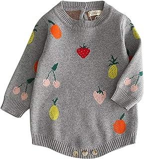 Maison Castellar Strampler, warm, Motiv Frucht, für Babys, Mädchen und Jungen, Unisex, Body, französische Marke, Grau